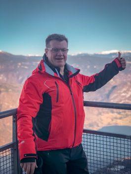 Ski instructor Vogel